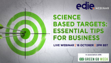 The one-hour session will provide you with expert tips and proven techniques in adopting and implementing science-based targets