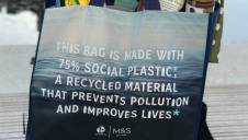 The bags will be made with post-consumer recycled plastics from Plastic Bank's Manilla recycling facility