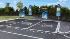 A total of 16 chargers will be installed across eight of M7's retail locations by Christmas 2018