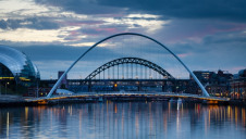 Gateshead. Energy efficiency in buildings is neglected across Britain, according to the study, and is worst in the Midlands, northern England and Wales