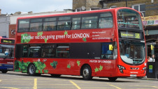 The move forms part of Khan's pledge to ensure all of London's buses are zero-emission by 2037