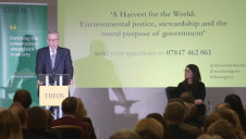 "During the Theos annual lecture in London, Gove said he would carry on as Environment Secretary ""for as long as I can be useful"" to Defra"