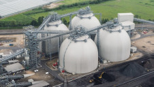 Drax Group, which commissioned the research, recently began its six-month CCS pilot scheme in Yorkshire (pictured)