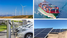ING's analysis covered an uptake in clean tech among seven major sectors, including power, road transport and shipping