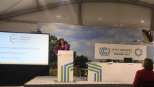 UK Energy Minister Claire Perry appeared at the summit today to discuss low-carbon power and carbon capture and storage (CCS)