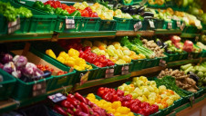 Shoppers can stock up on Waitrose's established Less than Perfect fruit and vegetables, which are slightly cheaper than their standard equivalents