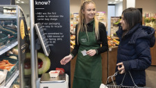 M&S has employed trained greengrocers as part of the trial, to ensure customers know how to weigh and preserve their shopping