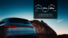 <p>The commitment has been dubbed the 'most ambitious' from a carmaker to date. Pictured: Mercedes-Benz's fully-electric SUV, the EQC</p>