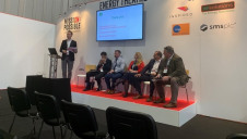 The panel discuss the findings of edie's Business Energy Barometer at edie Live 2019