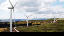 E.ON operates more than 20 wind farms across the UK. Pictured: Bowbeat wind farm, Scotland