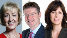 (L-R): Andrea Leadsom replaces Greg Clark at BEIS, while Claire Perry has become President of the UK's COP26 climate conference