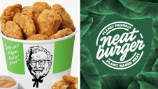 Image credits: KFC and Neat Burger