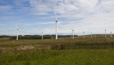 Pictured: Crossdykes Wind Farm, Dumfries and Galloway, Scotland. Image: Peter Brett