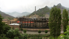 More than a third of the companies analysed are not disclosing their carbon emissions. Stock image of factory in China
