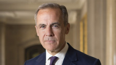 Carney (pictured) launched the TCFD in 2015 with Michael Bloomberg. Image: Bank of England
