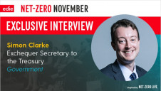 Clarke was quizzed on net-zero timeframes, technology solutions and Brexit