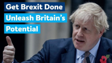 Returning Prime Minister Brosi Johnson will now turn his attention to 'getting Brexit done', despite also having a raft of green policy issues to deal with. Image: Chatham House (Flickr) https://www.flickr.com/photos/chathamhouse/30562517863
