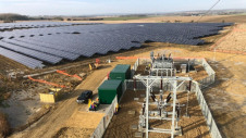 The array covers 353 acres. Image: NextEnergy Solar Fund