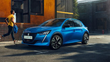 Pictured: Peugeot's e-208. Image: Groupe PSA
