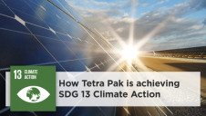Tetra Pak utilises an array of onsite renewables solutions to lower carbon impacts