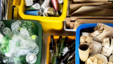 The UK is currently off-track to meet the EU's waste from households recycling target of 50% by 2020.