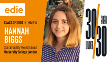 Hannah has dedicated her career to date to making the UK's higher education sector more sustainable