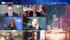 A host of green finance experts met virtually on day one of the Sustainability Leaders Forum