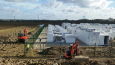 Battery storage projects are becoming increasingly common in the UK, with the nation's largest storage facility (pictured) having come online last July in Hertfordshire