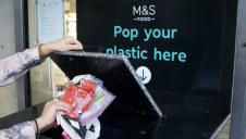 The first eight bins, which are made from recycled plastic, were installed on Monday (28 January)