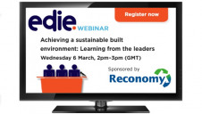 This webinar is dedicated to the firms within the construction sector that are adapting, innovating and collaborating to achieve a sustainable future