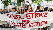 School-age strikers are out in force again today (15 March), campaigning for policy action on climate change