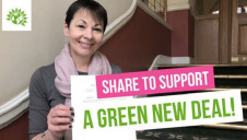 Green Party MP and co-leader Caroline Lucas presents the Decarbonisation and Economic Growth Bill