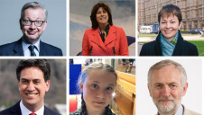 Some of the UK's most powerful politicians offered their views on the ongoing climate strikes