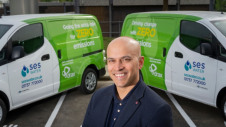 Clients to use the service will be supplied with 100% renewable electricity to power the EVs. Pictured: Drax Retail's chief executive Jonathan Kini