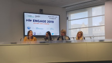 (L-R): The SRA's development director Juliane Cailloutte-Noble; AB InBev's global director of sustainability investments and accelerator Maisie Devine; IBM Global Markets' vice president for marketing Caroline Taylor and Kingfisher's head of sustainability Caroline Laurie