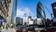 <p>Skanska UK's most famous projects include the Gherkin (pictured), Crossrail and the Scalpel</p>