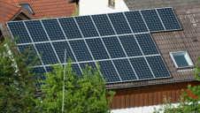 <p>Under the plans, an incoming Labour government would fund the installation of rooftop solar on 1 million social homes and 750,000 properties with low-income owners or tennants</p>