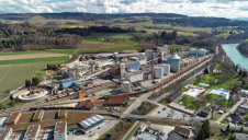 Switzerland topped the league table for sustainable business. Pictured: Schweizer Zucker's Aarberg sugar factory