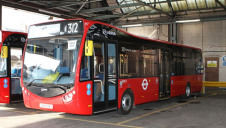 One of Arriva's electric bus models
