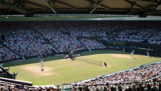 An average of 39,000 people visit the Wimbledon Grounds each day throughout the event