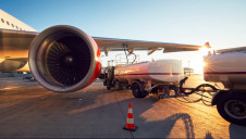 The jet fuel will be made from household waste and the gases it emits