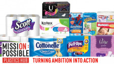 Kimberly-Clark is targeting 100% recyclability across its plastics packaging by 2022