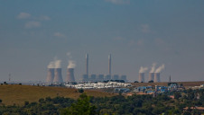 Coal-fired power plant in South Africa