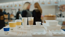 Ikea serves more than 650 million diners globally every year, many of whom will opt for food or drink in to-go packaging. Image: Ikea