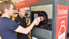 The reverse vending machines offer users a 10p discount coupon for every plastic bottle inserted