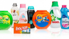 The move will apply to Ariel and Lenor packaging. Image: P&G