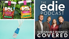 The episode features three exclusive interviews, all exploring the alternative protein market. Images: BOL Foods and Soylent