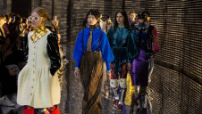 Gucci's carbon-neutral strategy stretches from its supply chain to its fashion shows. Image: Gucci/Kering