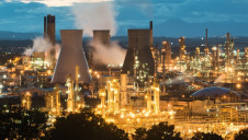 Grangemouth (pictured) is one of the key industrial clusters the Government is seeking to decarbonise