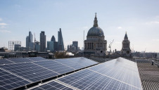 A PV array at Landsec's Ludgate building